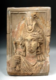 """Isis, terracotta, Size: 3"""" L x 6.55"""" W x 10.45"""" H (7.6 cm x 16.6 cm x 26.5 cm)Provenance: collection of the late Alfred E. Stendahl, Stendahl Gallery, Los Angeles, California, USA"""