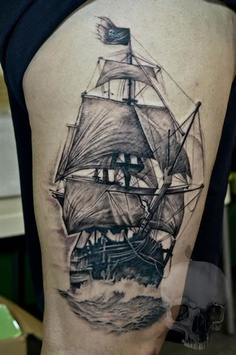 Alvin Chong not only has beautiful artwork, he creates awesome tattoos as well! Enjoy!