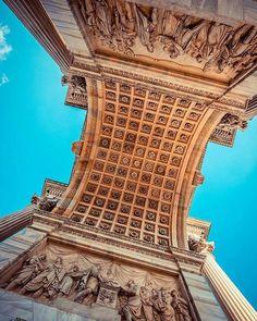 Sotto l'Arco della Pace #milanodavedere foto di  : @umbophoto Milano da Vedere