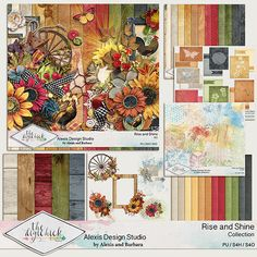 Alexis Design Studio RISE AND SHINE http://www.thedigichick.com/shop/Rise-and-Shine-Bundle.html