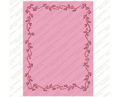Cuttlebug Embossing Folder WALL DECOR & MORE  #2 - 5 X 7 - New(out of the box) #Cuttlebug