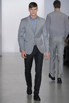 calvin klein menswear fall 2013