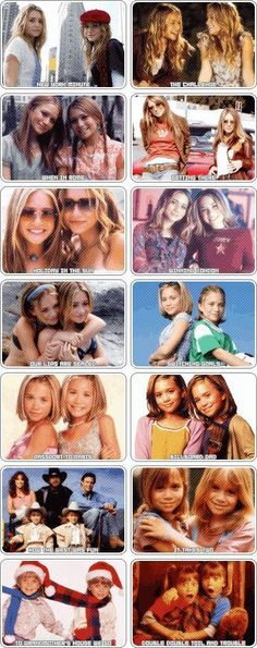 I remember every single one of these movies! Oh Mary Kate and Ashley