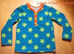 lillesol & pelle Schnittmuster/ Pattern: Knopf-Shirt