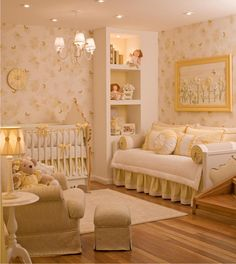 20 Traditional Nursery Designs For Baby Girls - Country Home Decor Rustic Baby Bedroom, Baby Room Decor, Nursery Room, Girls Bedroom, Baby Room Design, Nursery Design, Girl House, Girl Room, House Design
