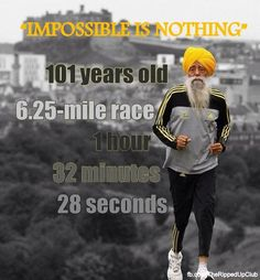 IMPOSSIBLE IS NOTHING!!!   #Noexcuse