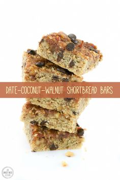 Vegan Date-Coconut-Walnut Shortbread Bars http://anunrefinedvegan.com/2015/05/17/happy-walnut-day-vegan-date-coconut-walnut-shortbread-bars/