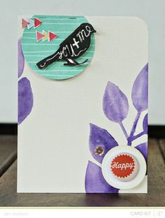 Made with @StudioCalico July kit and add-ons!