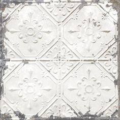 PAPIER+PEINT+METAL++Papier+peint+non+encollé+métal+blanc