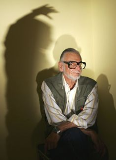 † George A. Romero (February 4, 1940 - July 16, 2017) American director, scenerist, producer and editor, o.a. known from the movie 'Night of the living dead' from 1968.