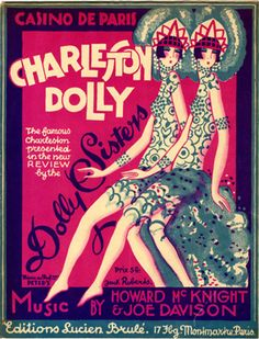 The Dolly Sisters: Art Deco gold diggers Dolly Sisters, Sisters Art, Sheet Music Art, Vintage Sheet Music, Nostalgic Images, Jazz Age, Oui Oui, Music Covers, Marker Art