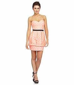 DV by Dolce Vita Amica Strapless Dress #Dillards