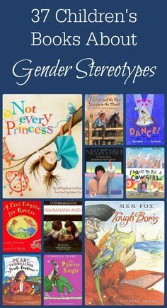 Children's books that defy gender stereotypes are great conversation starters! I love having something as easy as a book to help me ask some great questions! www.spoilmyfamily.com