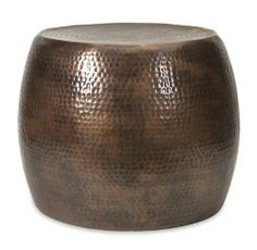 "20.5"" Marian Short Hammered Two-Tone Brown Aluminum Accent Footstool Table CC Home Furnishings,http://www.amazon.com/dp/B00EZ88EYW/ref=cm_sw_r_pi_dp_u6OHtb1DSHWQQC6A"
