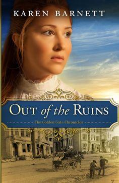 Karen Barnett - Out of the Ruins / https://www.pinterest.com/cathylynnbryant/cintias-christian-fiction-board/