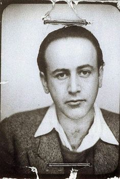 Paul Celan and the Meaning of Language - An Interview with Pierre Joris La Fugue, Paul Celan, Vintage Photo Booths, Version Francaise, Writers And Poets, Book Writer, Playwright, Historical Pictures, Artistic Photography