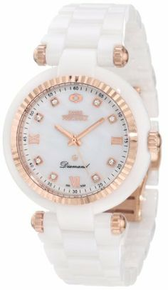 Swiss Precimax Women's SP12131 Avant Diamond Ceramic Mother-Of-Pearl Dial White Ceramic Band Watch Swiss Precimax. $191.99. Swiss quartz movement. Case diameter: 36 mm. Scratch resistant, shatter resistant sapphimax crystal. Water-resistant to 30 M (99 feet). Ceramic case with ceramic band. Save 83% Off!
