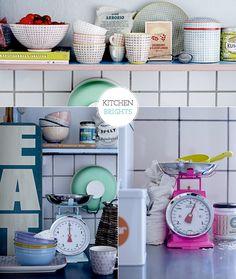 Colour Kitchen Wares. Make the chores fun as it states