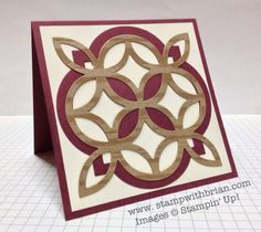 Lattice Bigz die, Window Frame Framelits, all-purpose card, Natural Composition Specialty Designer Series Paper, Stampin' Up!, stampwithbrian.com