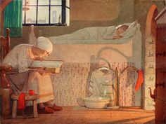 The Word by Frederick Cayley Robinson