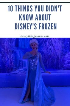10 Things You Didn't Know About Disney Frozen #DisneyFrozen