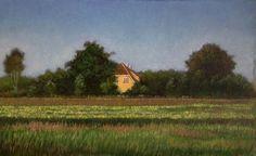 Danish landscape. oil on canvas. 2015