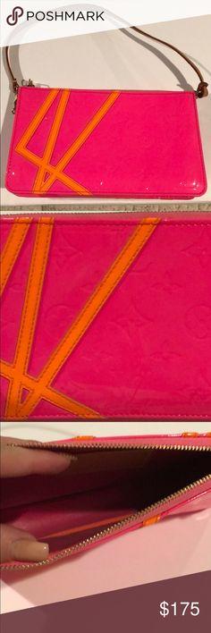 Authentic Louis Vuitton Robert Wilson Bag Limited Edition ROBERT WILSON Louis Vuitton Monogram Vernis Shoulder Bag  Worn Twice  Mint Condition Louis Vuitton Bags Shoulder Bags