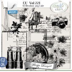 CU vol 221 Brush by Florju Designs