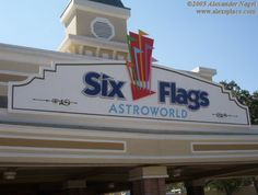 Six Flags Astroworld- Houston, Texas  Man, I miss that place!  Lots of great memories!