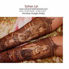 #sohanmehandi #bridalmehandi #sohanlal #sohansmehandi #sohanbridalmehandi #shahidnaar #harindalal #ravideepmakeupartist by bridalmehandi