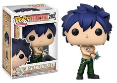 Expand your wizard guild with the characters of Fairy Tail! From the popular anime series comes this Fairy Tail Gray Fullbuster Pop! Vinyl Figure Packaged in a window display box, this Pop! Vinyl figure measures approximately 3 tall. Ages 3 and up. Fairy Tail Gray, Anime Fairy Tail, Pop Vinyl Figures, Anime Pop Figures, Fairytail, Funko Pop Anime, Emo, Pop Figurine, Pop Toys