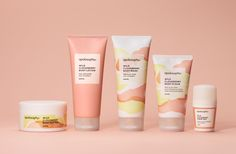 Packaging design for Swedish cosmetic brand Apolosophy by BVD