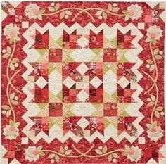Pretty Patchwork Quilts by Martingale/That Patchwork Place, combination of piecing and applique