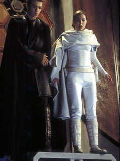 Star Wars Eposode II Attack of the Clones, Anakin and Padme on Geonosis at the Droid Foundry.