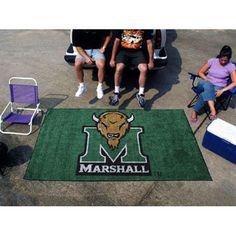 Marshall Thundering Herd NCAA Ulti-Mat Floor Mat (5x8')
