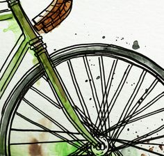 TIMBALLOO: Illustration Friday: Wheel