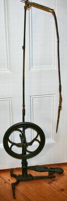 Antique Foot Powered Dental Drill