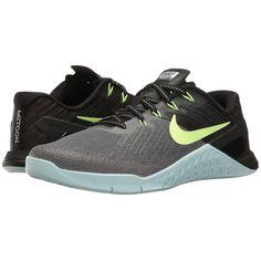big sale 1d6d3 2e4e7 Nike Metcon 3 (Dark Grey Ghost Green Glacier Blue Black) Women s