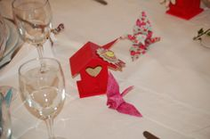 Origami Grue et nichoir