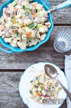 Romige pastasalade met tonijn van Foodiemoods