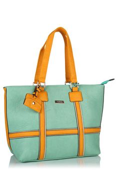 Turn heads with Green Tote Bag Price: Rs 2395
