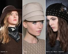 winter 2015-16, felt hats