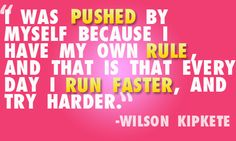 live by it. (and notice he says run faster not longer...sprinting intervals are the ONLY running you should be doing. Its natural - steady state jogging IS NOT.