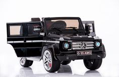 The brand new AMG Mercedes G55 Ride On RC Luxury truck, now with opening doors, is on our Nice List all year long. It's bold, tough and ready to…