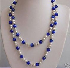 48-inches-beautiful-White-pearl-Blue-opal-necklace-7-8MM
