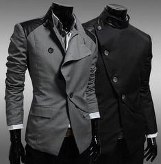2014 Futuristic Side Button Blazer http://www.dealman.co.nz/collections/the-legendary-collection/products/2014-futuristic-side-button-blazer