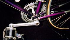 Campy Crank Set with awesome bottom bracket lug work. Bottom Bracket, Bicycles, Cycling, Awesome, Biking, Bicycling, Bike, Bicycle, Ride A Bike