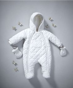 Mamas and Papas - Quilted Pramsuit. May need this for our New York trip in winter... If we go :)