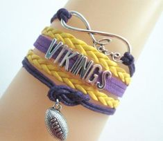 Bracelet {Vikings} Football