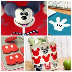 Make Mickey Mouse a terrific part of your day with these crafts and recipes!